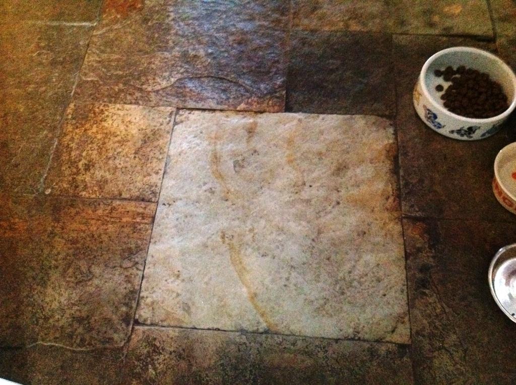 Slate Floor in Ulveston Test Area