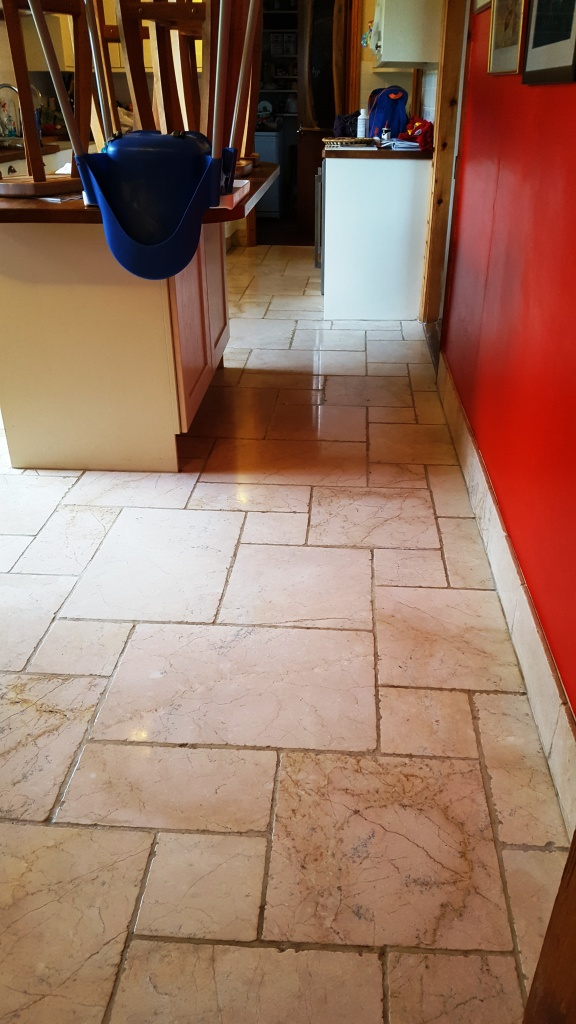 Marble floor after cleaning Penrith