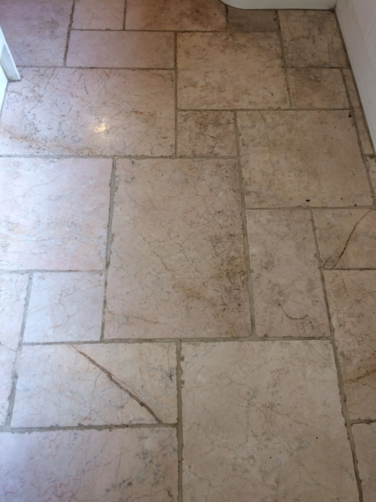 Deep Cleaning and Polishing a Marble Tiled Kitchen Floor – Marble
